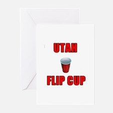 Utah Flip Cup Greeting Cards (Pk of 10)