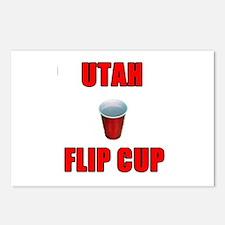 Utah Flip Cup Postcards (Package of 8)