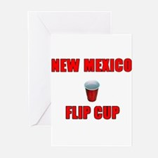 New Mexico Flip Cup Greeting Cards (Pk of 10)