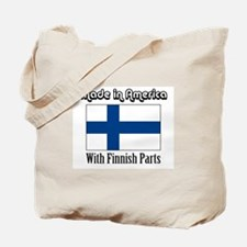 Finnish Parts Tote Bag