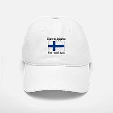 Finnish Parts Baseball Baseball Cap