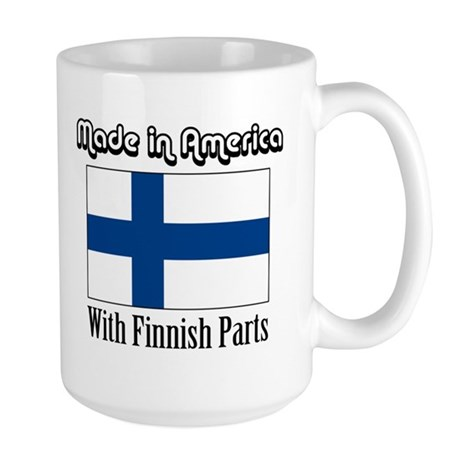 Finnish Parts Large Mug