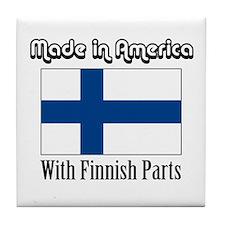 Finnish Parts Tile Coaster
