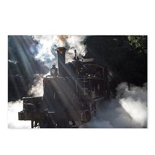 Puffing Billy at Selby Postcards (Package of 8)