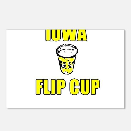 Iowa Flip Cup Postcards (Package of 8)