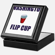 Washington Flip Cup Keepsake Box