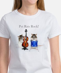 Musical Twins Rats Rock Tee