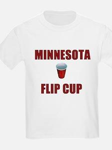Minnesota Flip Cup Kids T-Shirt