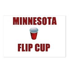 Minnesota Flip Cup Postcards (Package of 8)