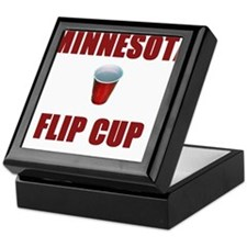 Minnesota Flip Cup Keepsake Box