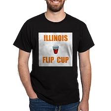 Illinois Flip Cup T-Shirt