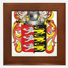 Grady Coat of Arms (Family Crest) Framed Tile