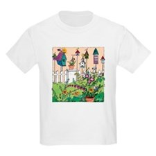 Cynthia Bainton Bird House Garden Kids T-Shirt