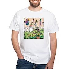 Cynthia Bainton Bird House Garden Shirt