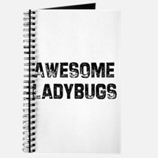 Awesome Ladybugs Journal