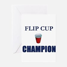 Flip Cup Champion Greeting Cards (Pk of 10)