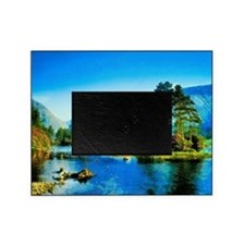 Mountain Lake Picture Frame