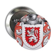 """Gray Coat of Arms (Family Crest) 2.25"""" Button"""