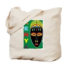 Kenyan Mask Tote Bag