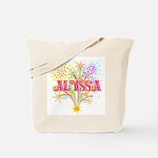 Sparkle Celebration Alyssa Tote Bag