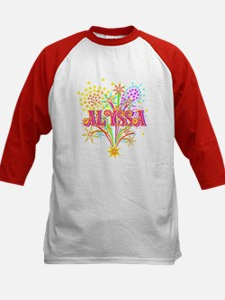 Sparkle Celebration Alyssa Kids Baseball Jersey