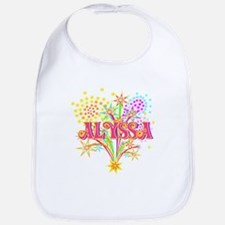 Sparkle Celebration Alyssa Bib