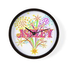 Sparkle Celebration Ashley Wall Clock