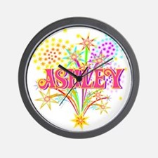 Sparkle Celebration Ashley Wall Clock