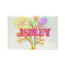 Sparkle Celebration Ashley Rectangle Magnet