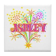 Sparkle Celebration Ashley Tile Coaster