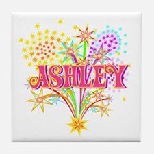 Sparkle Celebration Ashley Tile Coaster