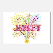 Sparkle Celebration Ashley Postcards (Package of 8