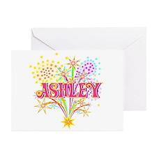 Sparkle Celebration Ashley Greeting Cards (Package
