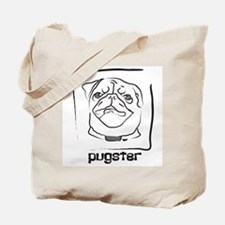 Pugster Art Tote Bag
