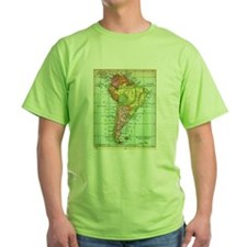 South America Map T-Shirt