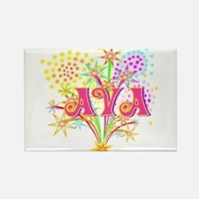 Sparkle Celebration Ava Rectangle Magnet