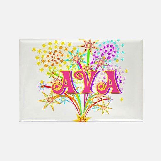 Sparkle Celebration Ava Rectangle Magnet