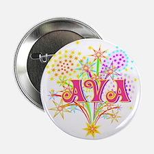 """Sparkle Celebration Ava 2.25"""" Button (10 pack)"""