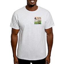 Cynthia Bainton Bird House Garden Ash Grey T-Shirt