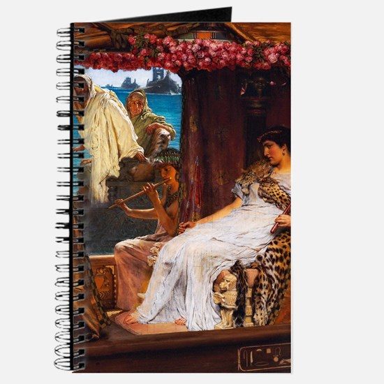 Alma-Tadema - Antony and Cleopatra Journal