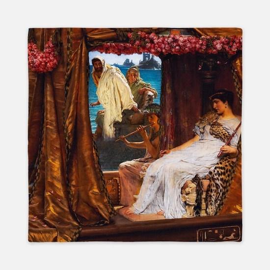 Alma-Tadema - Antony and Cleopatra Queen Duvet