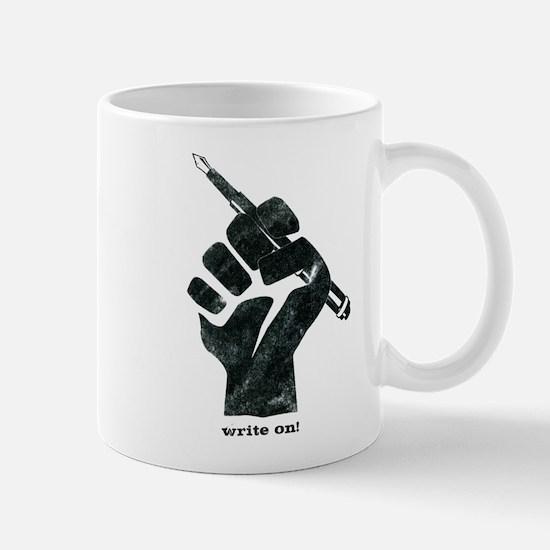 Write On T-Shirt Stainless Steel Travel Mugs