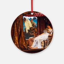 Alma-Tadema - Antony and Cleopatra Ornament (Round