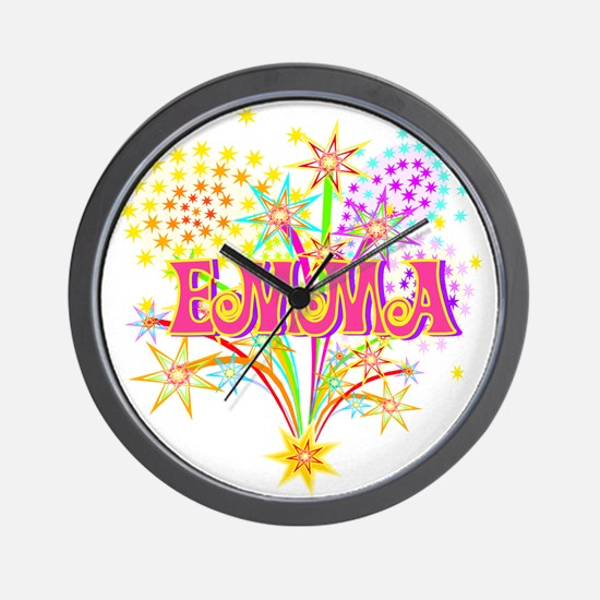 Sparkle Celebration Emma Wall Clock