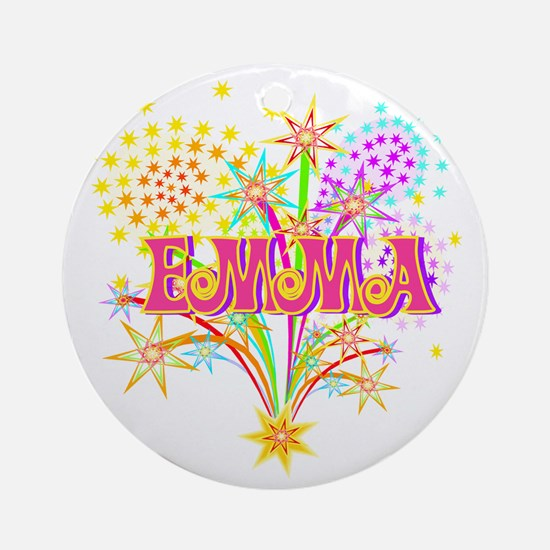 Sparkle Celebration Emma Ornament (Round)