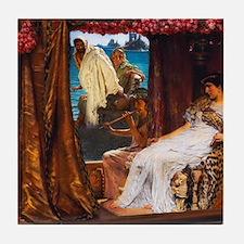 Alma-Tadema - Antony and Cleopatra Tile Coaster