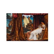 Alma-Tadema - Antony and Cleopatra Rectangle Magne