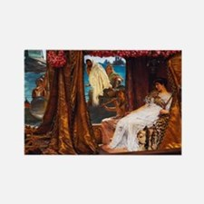 Alma-Tadema - Antony and Cleopatra Rectangle Magne