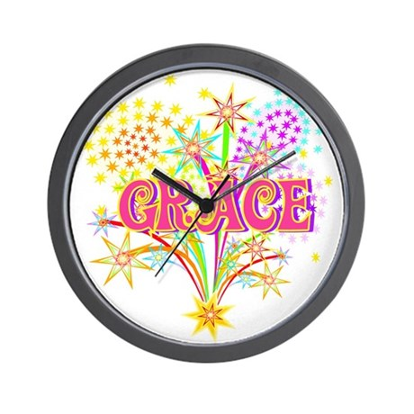 Sparkle Celebration Grace Wall Clock