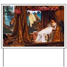 Alma-Tadema - Antony and Cleopatra Yard Sign
